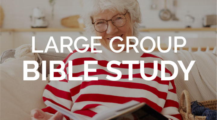 Large Group Bible Study